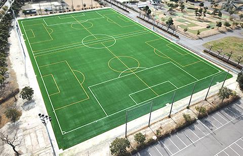 元浜スポーツ広場のサッカー場
